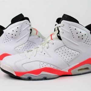 Nike Air Jordan Retro White Infrared VI 2014 Men's